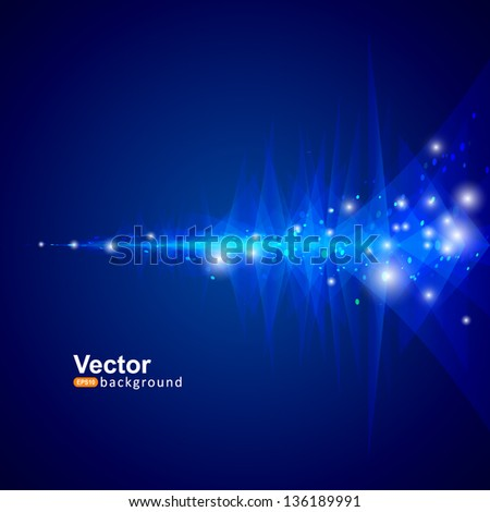 Vector equalizer art - stock vector