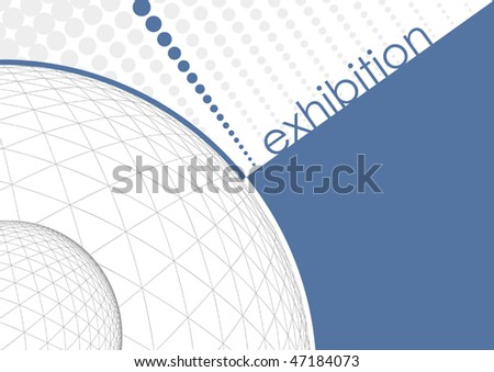 Vector Exhibition Design - stock vector