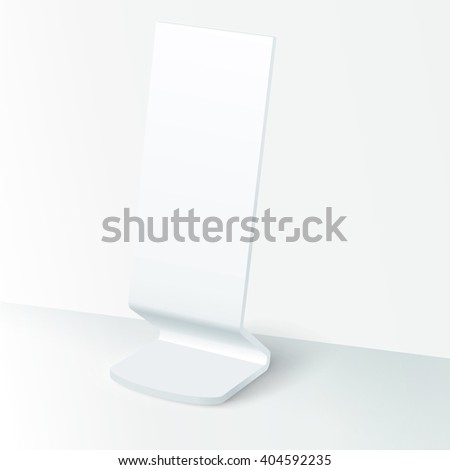Vector Exhibition Placard for Your  Branding Content - stock vector