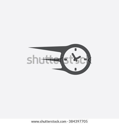 Vector fast time Icon - stock vector