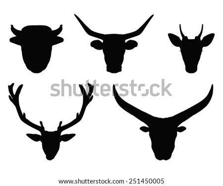 vector file of horns