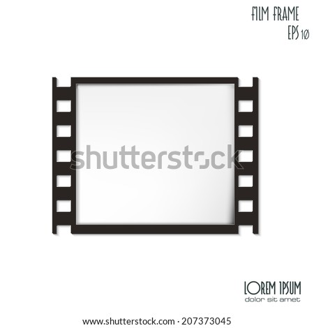 vector film frame eps 10