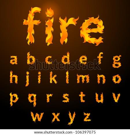 Flame font generator – Download Site