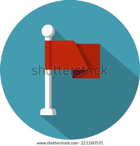 Vector Flag  - stock vector