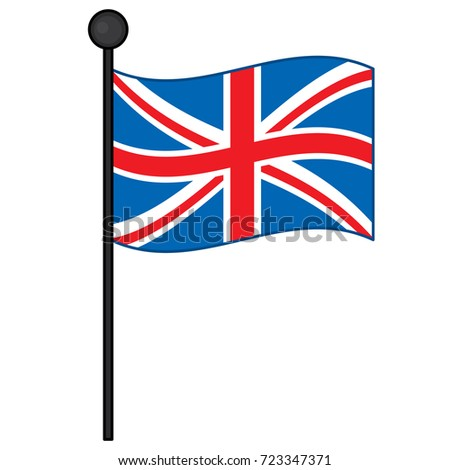 vector flag united kingdom vector union stock vector 723347371 rh shutterstock com union jack vector eps union jack vector graphic