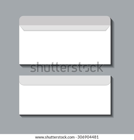 Vector Flat Template Background Realistic Mock Stock Vector
