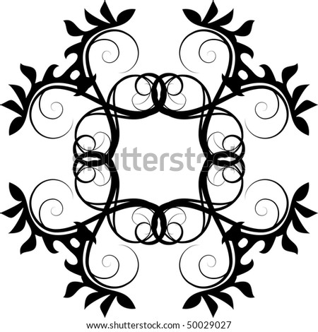 vector floral pattern stock vector 50029027 shutterstock rh shutterstock com vector floral pattern stencil vector floral patterns illustrator