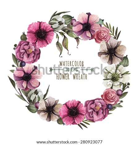 illustration soft floral - photo #44