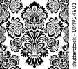 Vector Flower Seamless Pattern. Swatch is included. Easy to edit. - stock vector