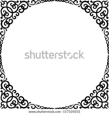 Vector frame - stock vector