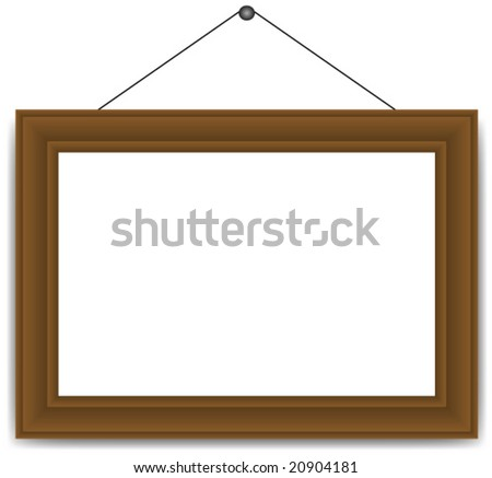 Vector Frame for photo,art or painting. - stock vector