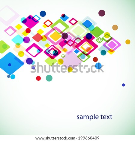 vector frame with rhombus. Vector blank for your presentation