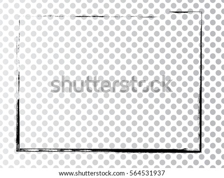 Vector Frames Rectangles Image Distress Texture Stock Vector ...