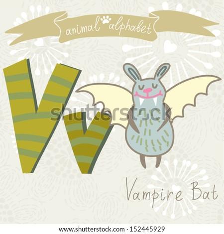 V Alphabet Images With Love ... funny Animal Alphabet
