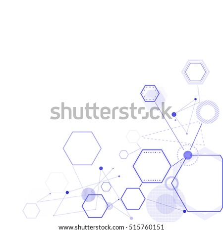 Vector futuristic background