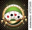 Vector Gambling Illustration - stock vector