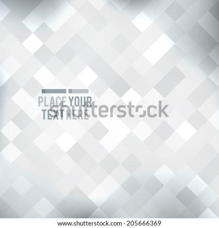 vector geometric abstract background of rhombus shapes - stock vector