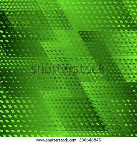 Vector geometric abstract background. Vibrant tech Illustration. - stock vector