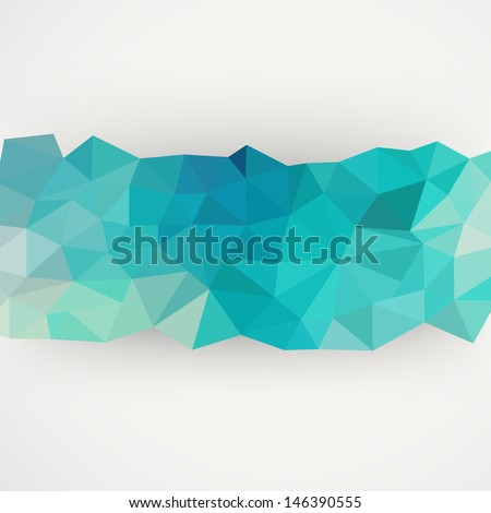 Vector geometric pattern with geometric shapes, rhombus. That square design has the ability to be repeated or tiled without visible seams. - stock vector
