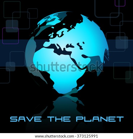 Vector globe Earth isolated on the black background. Vector illustration. - stock vector
