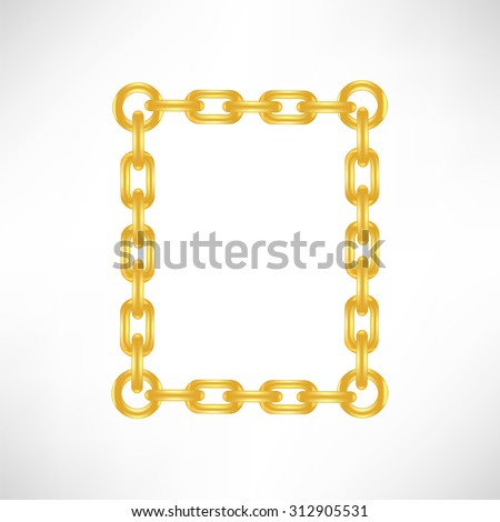 Vector Gold Number 0 Isolated on White Background