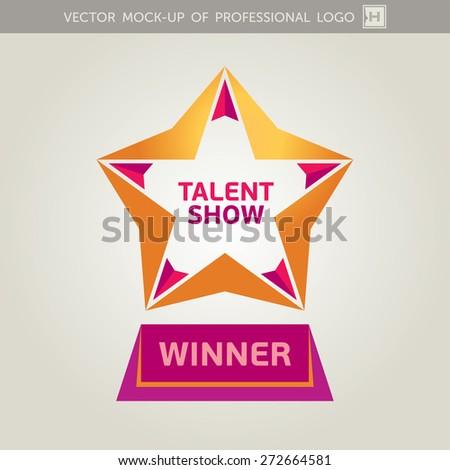 Vector Golden Star Icon - stock vector