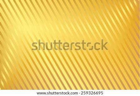 vector golden stripes baclgorund - stock vector