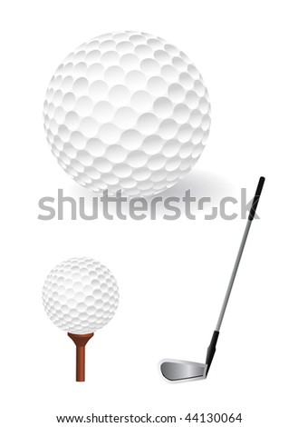 vector golf ball set