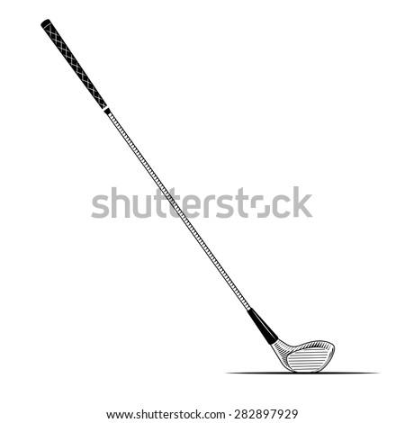 Golf Club Driver Clip Art