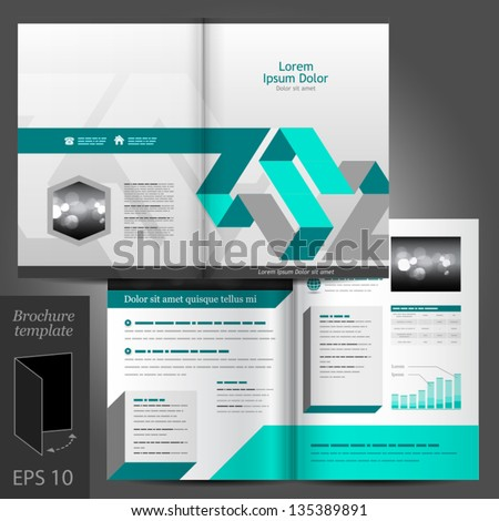 Brochure Layout Design Stock Images, Royalty-Free Images & Vectors ...
