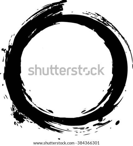 of vector grunge circle - photo #8