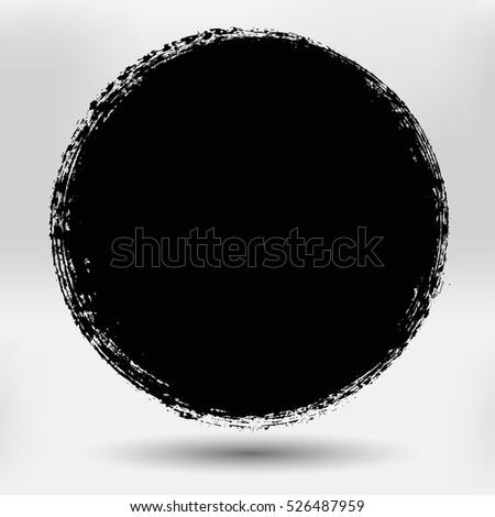 of vector grunge circle - photo #24