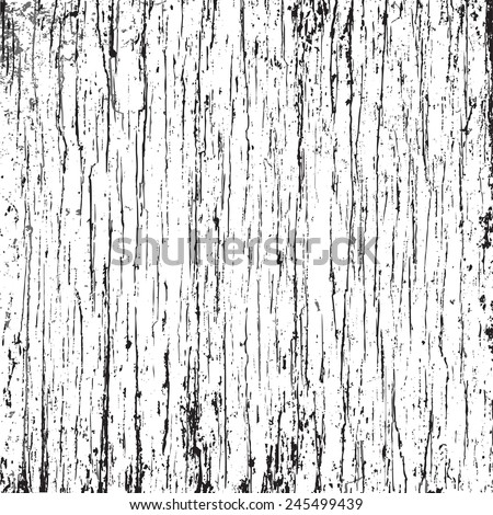 Vector Grunge Crack Texture. Easy to edit and use as overlay. - stock vector