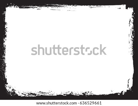 Vector Grunge Frame Distress Background Stock Vector HD (Royalty ...