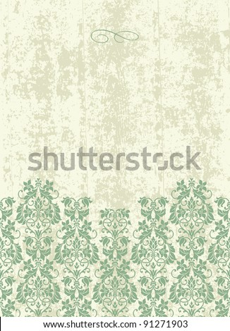 Vector Grunge Pastel Background. Easy to edit. Perfect for invitations or announcements. - stock vector
