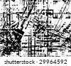 Vector grunge pattern - stock photo