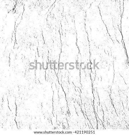 Vector Grunge texture. Abstract background. Wall cracks Graphic effect. - stock vector