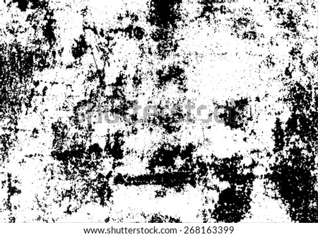 Vector grunge texture. Abstract textural grunge a background of cracks, spots for design - stock vector