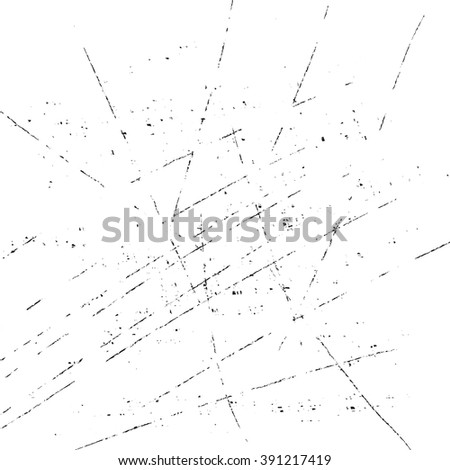 vector grunge texture, grunge scratched white background - stock vector