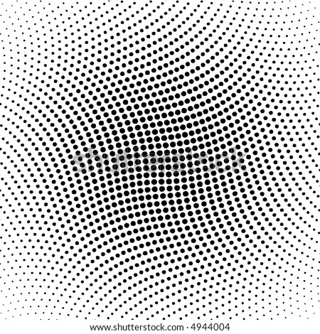 vector halftone dots for backgrounds and design - stock vector