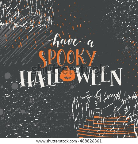 Vector halloween lettering greeting card have stock vector hd vector halloween lettering greeting card have a spooky halloween message design background with vector texture m4hsunfo