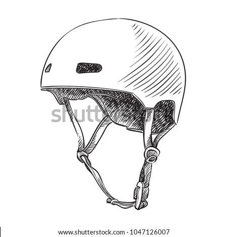 To Bike Helmet Drawings Scales4u