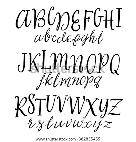handwriting alphabet stock images royaltyfree images