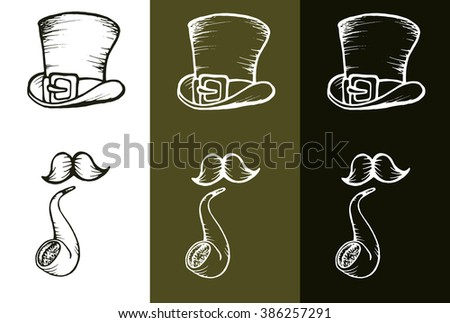 Vector hand drawn illustration for St. Patrick's day