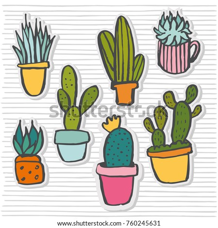 how to draw a cactus cute