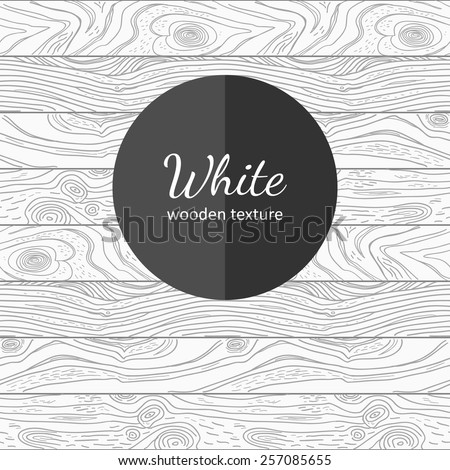 Vector hand drawn wooden seamless texture. EPS 8. - stock vector