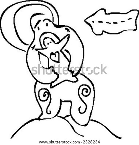 vector handmade line drawing stock vector hd royalty free 2328234 rh shutterstock com vector line art in photoshop cs5 vector line art file