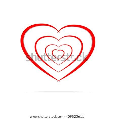 share love concept peace unity design stock vector