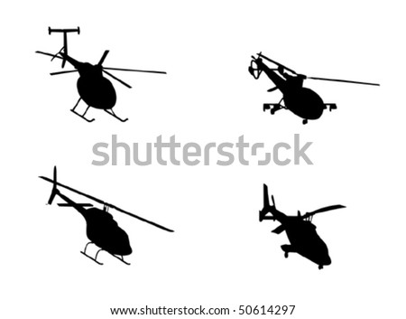 Vector helicopter collection
