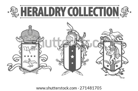 KatflareS Heraldry Set On Shutterstock